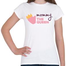PRINTFASHION Anya a királynő - Női póló - Fehér