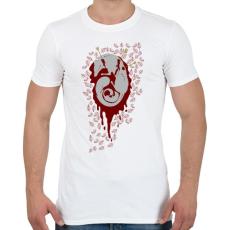 PRINTFASHION Anyaróka - Férfi póló - Fehér
