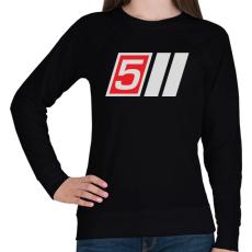PRINTFASHION AUDI S5 - Női pulóver - Fekete