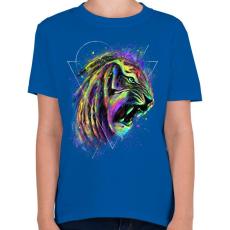 PRINTFASHION Az elpusztíthatatlan - Gyerek póló - Királykék