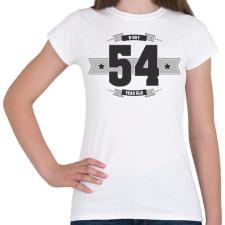 PRINTFASHION b-day-54-dark-lightgrey - Női póló - Fehér női póló