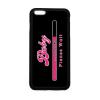 PRINTFASHION baby-loading-pink-white - Telefontok - Fekete hátlap