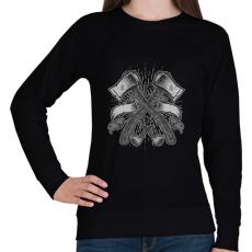 PRINTFASHION Balták - Női pulóver - Fekete