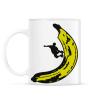 PRINTFASHION Banán deszkás - Bögre - Fehér