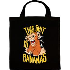 PRINTFASHION Banános maki - Vászontáska - Fekete