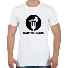 PRINTFASHION Bartosizmus - fekete - Férfi póló - Fehér férfi póló
