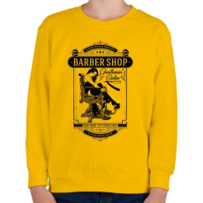 PRINTFASHION Borbély - Gyerek pulóver - Sárga