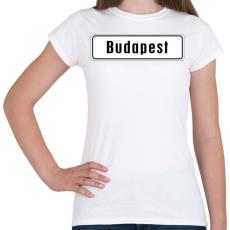 PRINTFASHION budapest - Női póló - Fehér