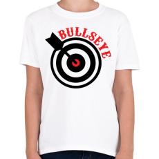 PRINTFASHION Bull - Gyerek póló - Fehér