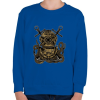 PRINTFASHION Búvár polip - Gyerek pulóver - Királykék