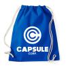 PRINTFASHION Capsule Corp - Sportzsák, Tornazsák - Bright royal