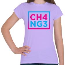 PRINTFASHION CHANGE - Női póló - Viola női póló