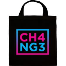 PRINTFASHION CHANGE - Vászontáska - Fekete kézitáska és bőrönd