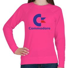 PRINTFASHION Commodore - Női pulóver - Fukszia