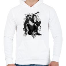 PRINTFASHION Converse - Férfi kapucnis pulóver - Fehér