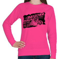 PRINTFASHION Daytona - Női pulóver - Fukszia