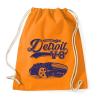 PRINTFASHION Detroit V8 - Sportzsák, Tornazsák - Narancssárga