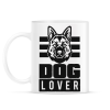 PRINTFASHION Dog Lover - Bögre - Fehér