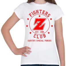 PRINTFASHION Dragonball Fighters Z Club - Női póló - Fehér