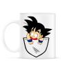 PRINTFASHION Dragonball Son Goku  - ZSEB - Bögre - Fehér