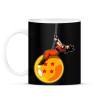 PRINTFASHION Dragonball - Wrecking Ball - Bögre - Fekete