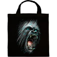 PRINTFASHION Dühöngő majom - Vászontáska - Fekete