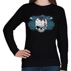 PRINTFASHION Embertelen - Női pulóver - Fekete