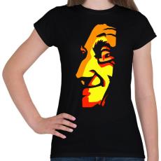 PRINTFASHION Face - Női póló - Fekete