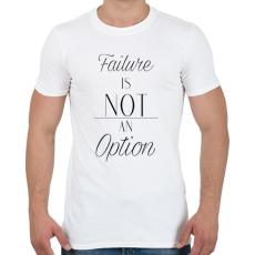 PRINTFASHION Failure - Férfi póló - Fehér