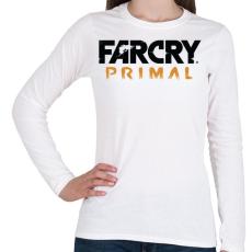PRINTFASHION Far Cry Primal - Női hosszú ujjú póló - Fehér