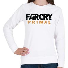 PRINTFASHION Far Cry Primal - Női pulóver - Fehér