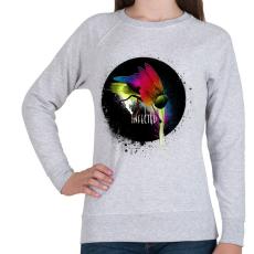PRINTFASHION Fertőzött - Női pulóver - Sport szürke