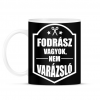 PRINTFASHION FODRÁSZ, NEM VARÁZSLÓ - Bögre - Fekete