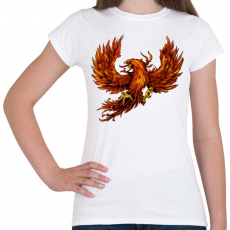 PRINTFASHION Főnix - Női póló - Fehér