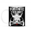 PRINTFASHION Fortnite Club - Bögre - Fekete