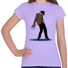 PRINTFASHION Freddy tánc - Női póló - Viola