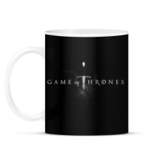 PRINTFASHION game of thrones - Bögre - Fekete ajándéktárgy