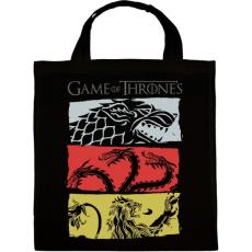 PRINTFASHION Game of Thrones - Vászontáska - Fekete