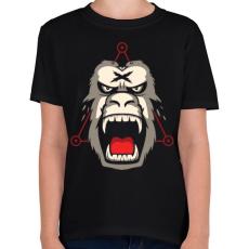 PRINTFASHION Gorillaz - Gyerek póló - Fekete