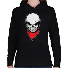 PRINTFASHION Gyilkos bandita - Női kapucnis pulóver - Fekete
