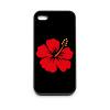 PRINTFASHION Hibiscus - Telefontok - Fekete hátlap