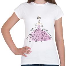 PRINTFASHION Hölgy - Női póló - Fehér