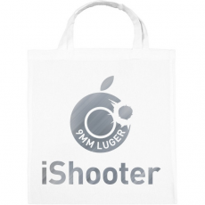 PRINTFASHION iShooter - Vászontáska - Fehér
