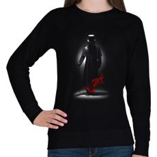 PRINTFASHION Jack - Női pulóver - Fekete