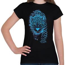 PRINTFASHION Jaguár - Női póló - Fekete