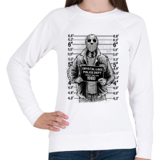 PRINTFASHION Jason - Női pulóver - Fehér