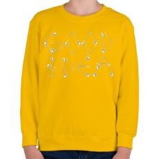 PRINTFASHION Jó ötlet - Gyerek pulóver - Sárga