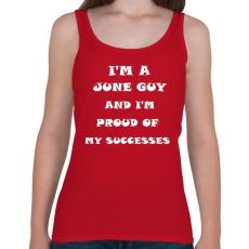 PRINTFASHION Júniusi vagyok és büszke vagyok a sikereimre - Női atléta - Cseresznyepiros