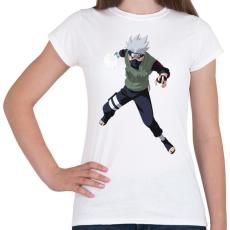 PRINTFASHION Kakashi - Női póló - Fehér
