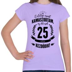 PRINTFASHION kamasz-25-black - Női póló - Viola